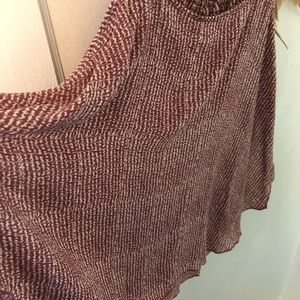 Free People Rosewood Colored Summer Top